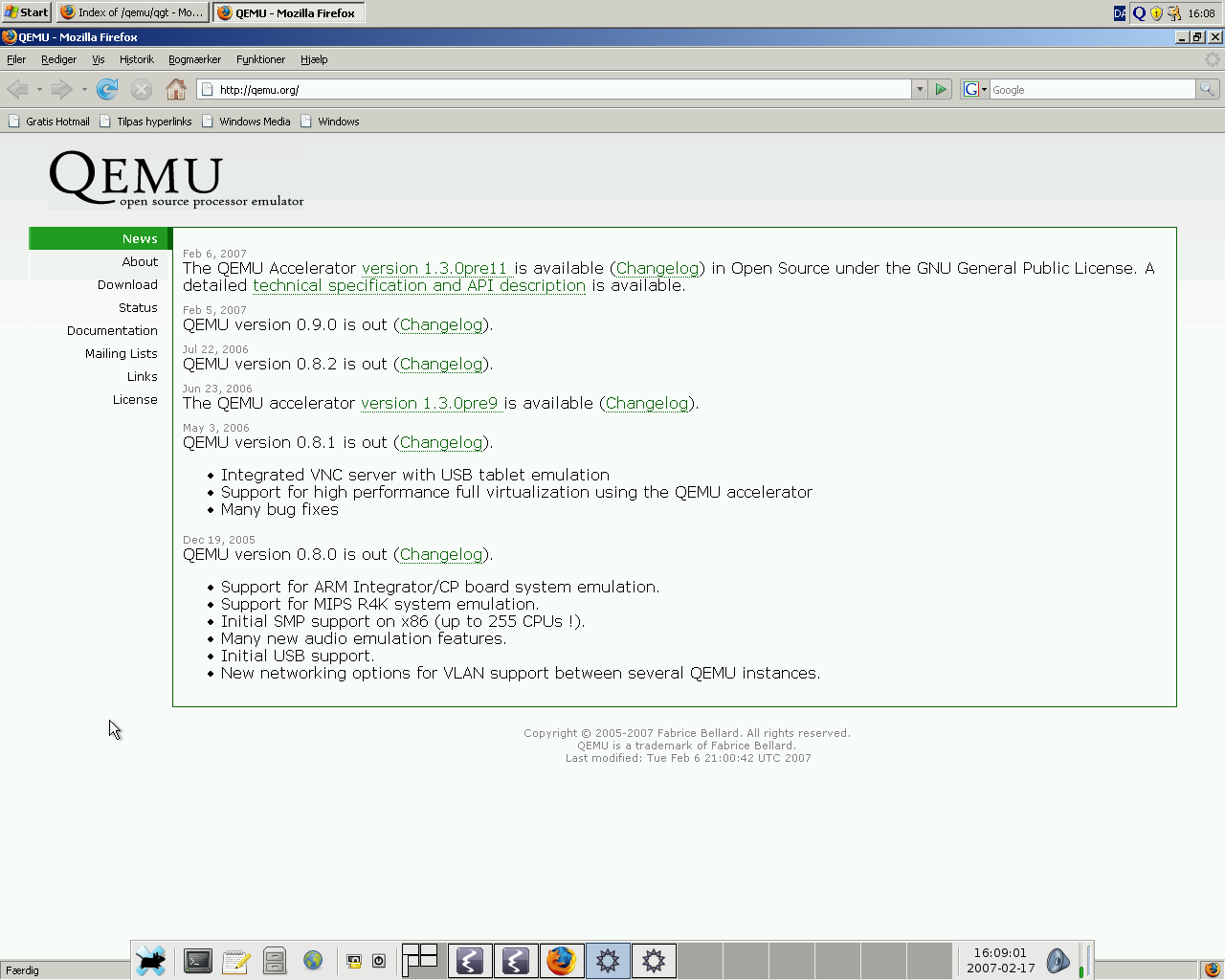 Integrating QEMU a bit with your desktop